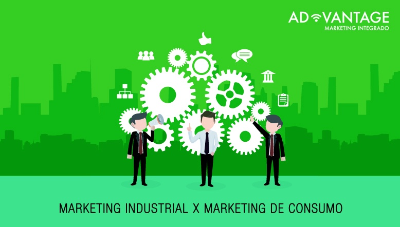 marketing industrial x marketing de consumo