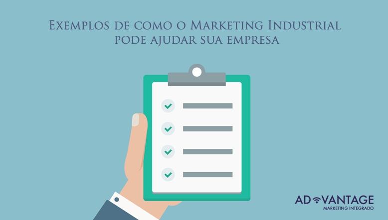 exemplos marketing industrial
